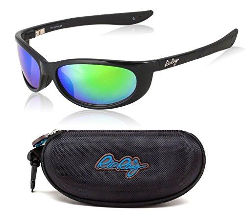 Rio Ray Polarized Sunglasses RX Prescription Ready Indestructible TR90 Frame - Captiva