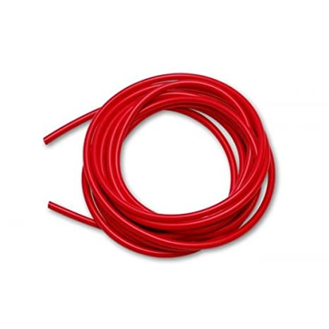 .156|4mm 5//32 ID High Performance Silicone Vacuum Hose - Red 10 feet