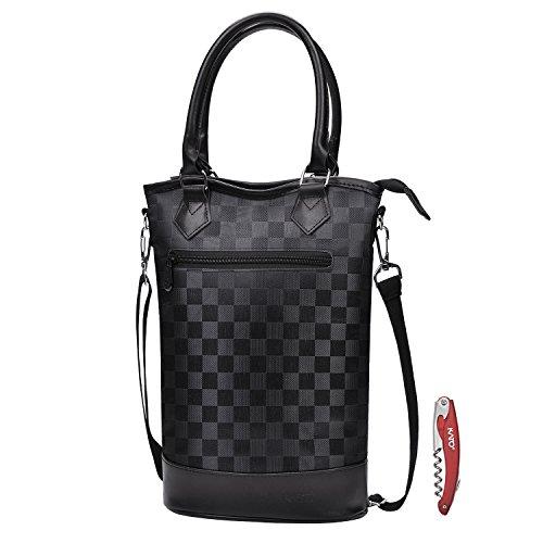 leather wine bag - 9