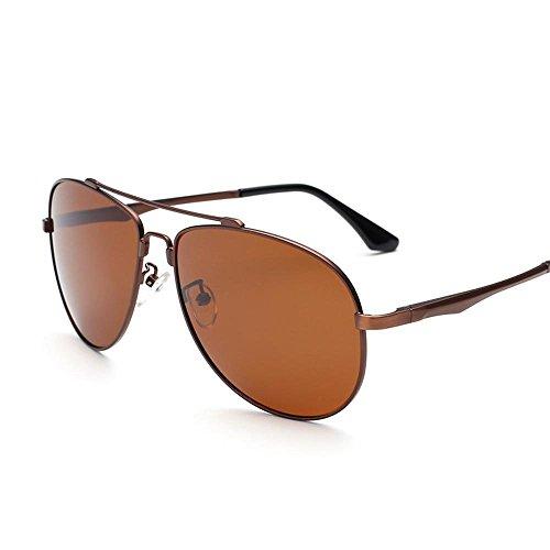 hombres sol polarizadas sol AL Rana gafas Aoligei A gafas de de Magnesio qAnFw