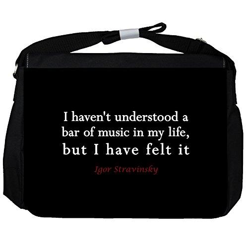 I haven't understood - Igor Stravinsky Unisex Umhängetasche