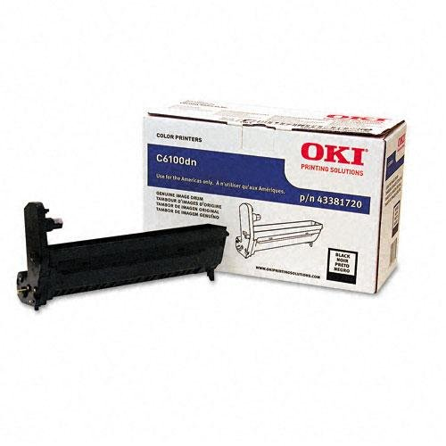 OKI43381720 - Oki Black Image Drum Kit For C6100 Series Printers
