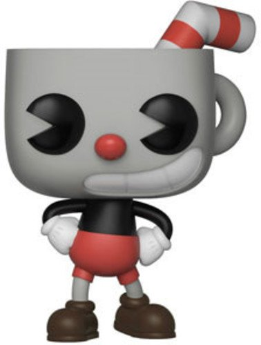 Boneco Funko Pop Games Cuphead S1 Cuphead Funko Pop Na
