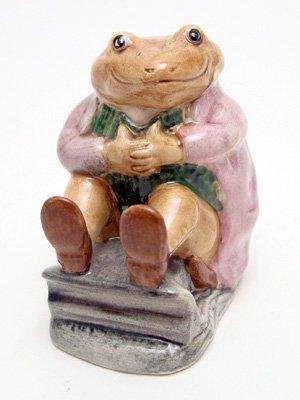 (Royal Doulton Beatrix Potter Mr. Jackson Brown Toad Beswick )