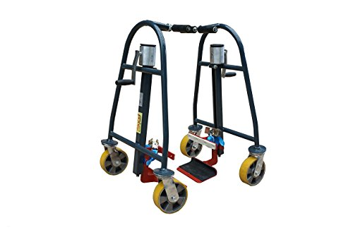 Material Handling Tools (Pake Handling Tools - Manual Furniture Mover Set, 1320 lbs Capacity (Set of 2))