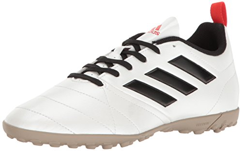 adidas Women's ace 17.4 tf w Soccer Shoe, White/Black/Core Red S, 10 M US