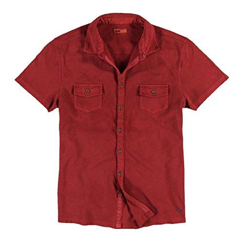 emilio adani Herren Poloshirt, 23385, Rot