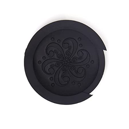 Generic Acoustic Guitar Sound Hole Cover Screeching Halt Rubber Black Acoustic Guitar Amplifiers & Preamps at amazon