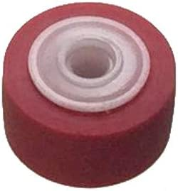 Tape Deck Repair Parts Pinch Roller//Outer Diameter 13mm//Width 8.3mm//Shaft Inner Diameter 2.5mm//1 Piece