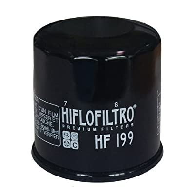Hiflofiltro HF199 Premium Oil Filter: Automotive