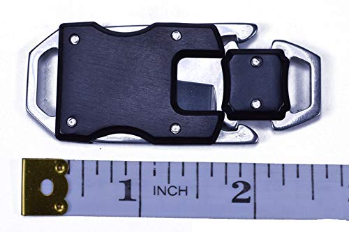3 Pack - Knife Buckles with Safety Latches - Great for Paracord Bracelets or Keyfobs by Bored Paracord (Image #4)