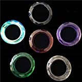 Kamas tools - Wholesales 50mm O Rings One Hole Mix Color Crystal Chandelier Pendants Glass Lamp Parts For Suncatcher DIY Decoration