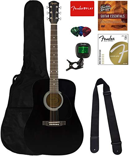 fender acoustic guitar small - 5