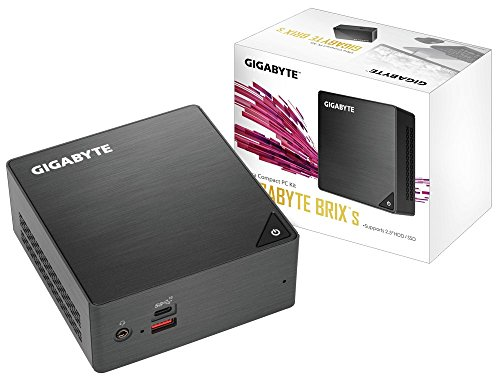 Gigabyte GB-BRI5H-8250 (Ultra Compact Mini PC/Intel UHD Graphics 620/M.2 SSD Port/HDMI (2.0a)/Dual Array Microphone)