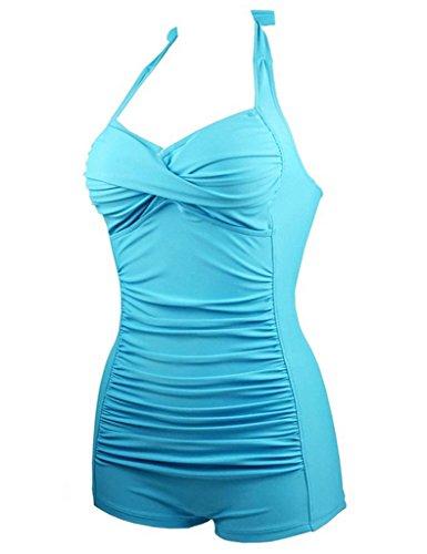 Saslax - Traje de una pieza - para mujer Azul