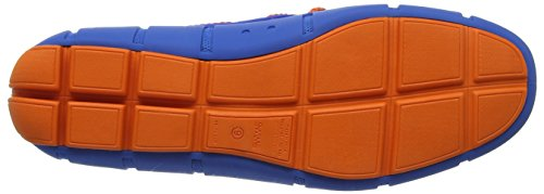Swims Braided Lace Loafer, Náuticos Hombre Azul (Blitz Blue/Orange)