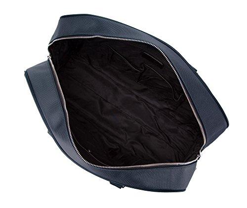 WITTCHEN , Borsa del computer portatile, Blue Marine. Dimensioni: 31x43x13, 1,3kg, Materiale: Poliestere, Collezione: Elegance - 85-3U-206-7