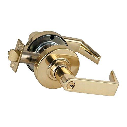Bright Chrome Finish Sparta Lever Design Vestibule Vandlguard Schlage Commercial ND93PDSPA625 ND Series Grade 1 Cylindrical Lock