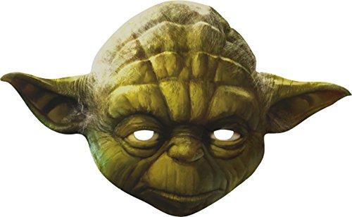Yoda Official Star Wars Paper Cardboard Mask (Yoda Kids Costume)