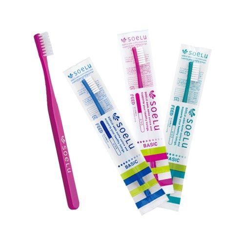 soelu Toothbrush Basic (Adult) 10 Count (Soft (S)) by Soelu