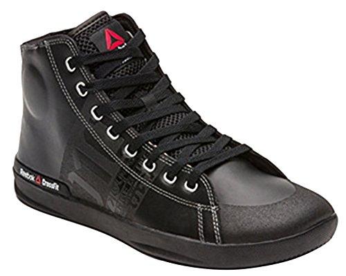 De Lite Pour Baskets Crossfit Hommes V59968 Cuir Noires Chaussures En Reebok Dynamitage ABq7n