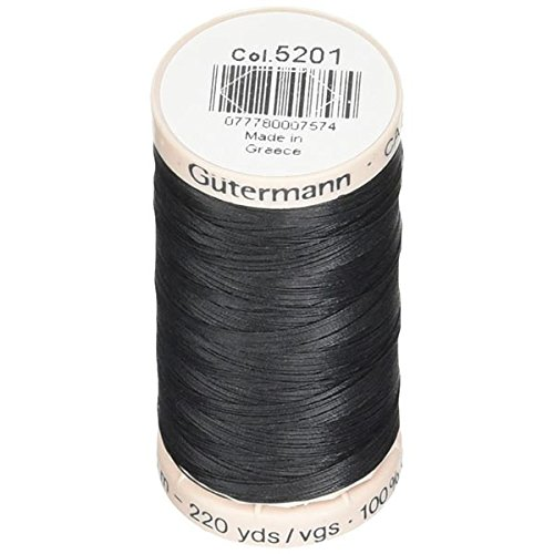 Gutermann Quilting Thread 220yd, Black ()