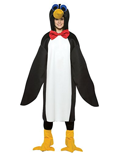 Penguin with Red Bow Tie Teen Kids size 13-16 (Penguin Costume)