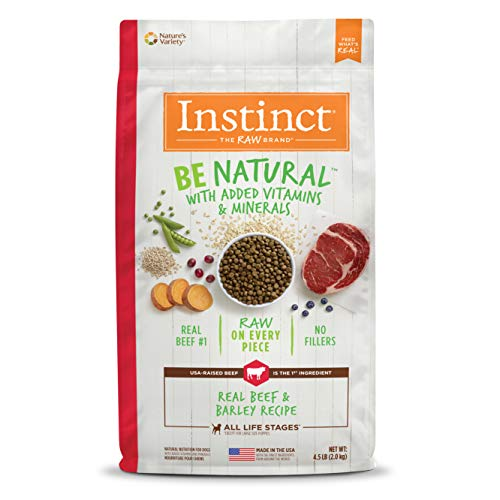 Instinct Be Natural Recipe natural Dry Dog Food Beef