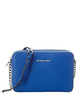 Michael Michael Kors Jet Set Travel Leather Crossbody