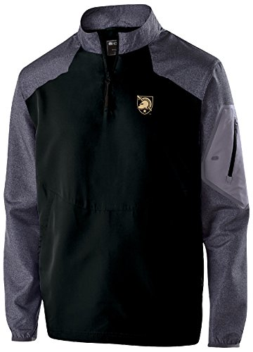 Ouray Sportswear NCAA Army Black Knights Men's Raider Pullover Top, X-Large, Carbon Print/Black