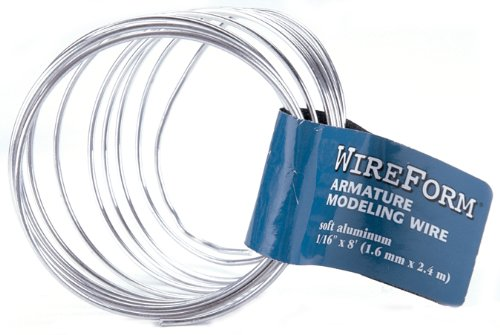 American Art Clay 50117E WireForm Armature Modeling Wire