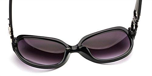 Style CHTIT Rouge de Miroir yeux Diamant Papillon TSGL317 soleil chat de de Lunettes Femme Homme 0qE11A
