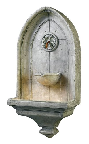 Kenroy Canterbury Wall Outdoor Fountain by Kenroy Home