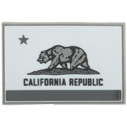 Maxpedition Gear California Flag Patch, Swat, 3 x 2-Inch