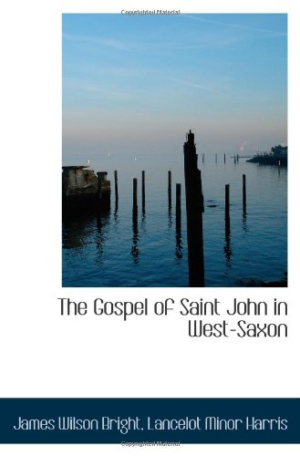 Download The Gospel of Saint John in West-Saxon pdf