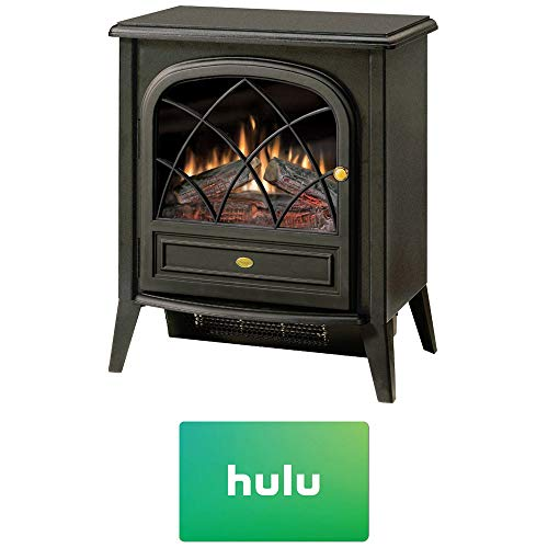 Cheap DIMPLEX Electric Stove-Style Fireplace (CS33116A) w/Hulu $25 Gift Card Black Friday & Cyber Monday 2019