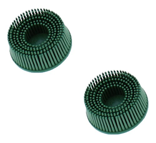 3M 3M-18730 Roloc Bristle Disc Grade - 50, Size - 2 - 2 Pack by 3M