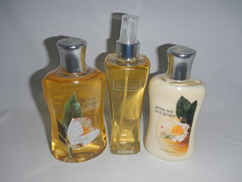 - Bath & Body Works White Tea and Ginger Gift Set