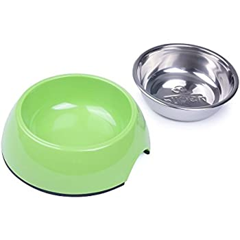 Amazon.com : SuperDesign Dog Cat Bowls Melamine Stand