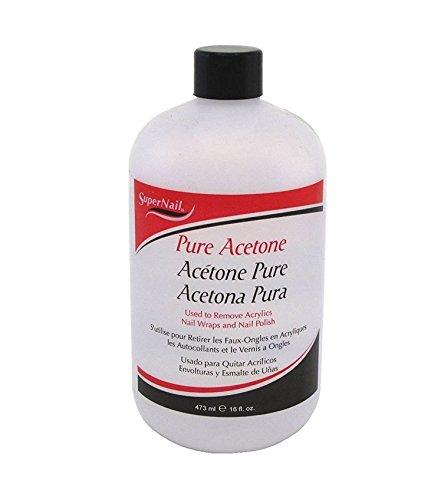 1 Bottle Lovely Popular Primer Supernail Pure Acetone Super Nail Polish Remover Dehydrate Shellac Fluid Dry Kit Toe