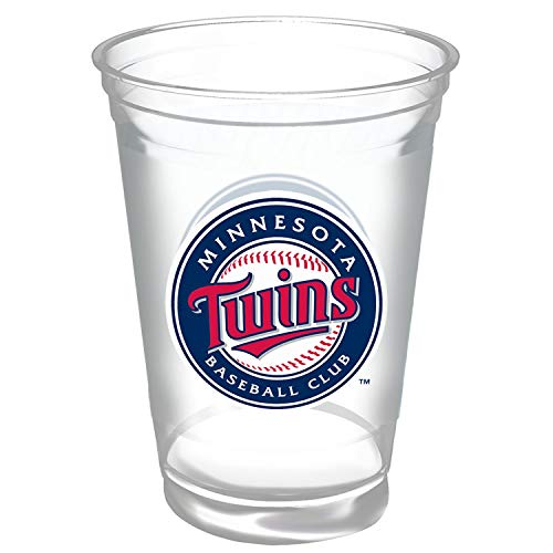Pack Twin Cup - Minnesota Twins Hefty 18oz. MLB Party Cups 60ct