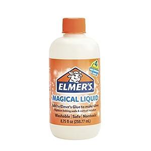 Elmer's Glue Slime Magical Liquid Activator Solution, 8.75 fl. oz. Bottle - Great for Making Slime