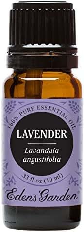 Edens Garden Lavender Essential Oil, 100% Pure Therapeutic Grade Aromatherapy Oils- Skin Care & Stress, 10 ml