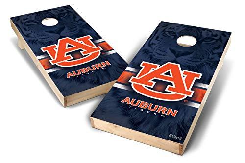 PROLINE NCAA College 2' x 4' Auburn Tigers Cornhole Board Set - Wild