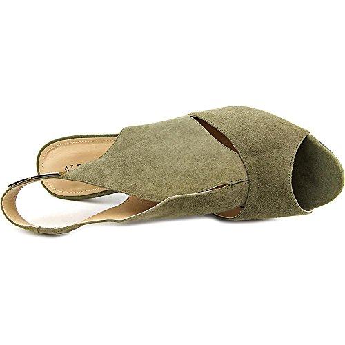 Alfani - Sandalias de vestir para mujer verde oliva