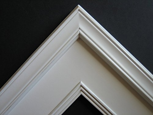 8x10 Picture Photo Frame / Plein Air Style / Solid White
