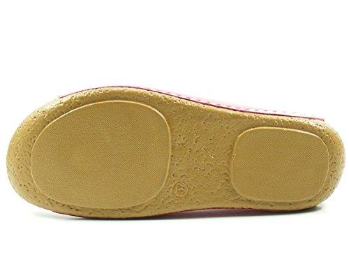 Femme Rose 0027423013 Conti Claquettes Andrea de Chaussures UqxFB4