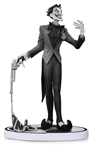 Lee Jim Batman Art (DC Collectibles Batman: Black and White: The Joker by Jim Lee Second Edition Statue)
