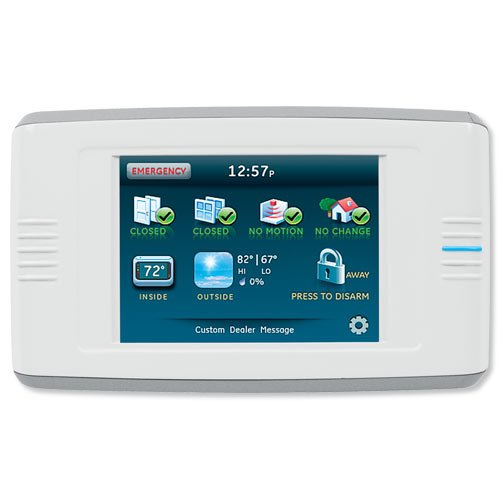Interlogix Simon XT Home Security Talking Touch Screen (60-924-RF-TS-N) (Simon Xti Control Panel compare prices)