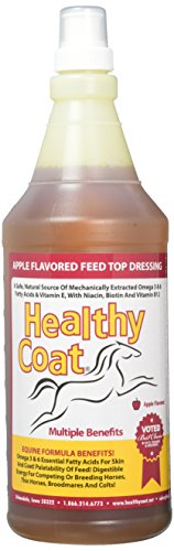 Heathly Coat Supplement for Horses, 32-Ounce
